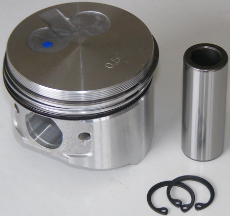 Piston Assy., 0.50 (Rings Incl)(M-11-9938)